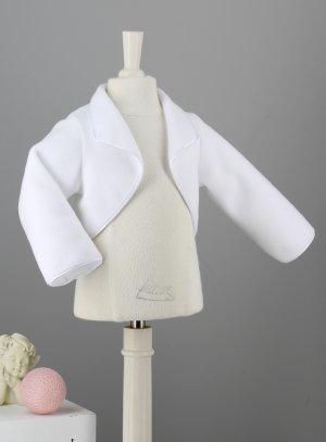 veste blanche baptême bébé fille