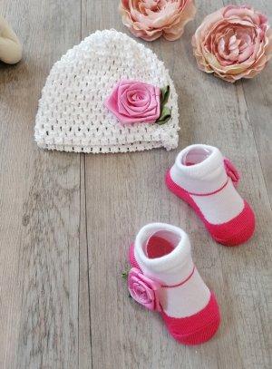 chapeau de cérémonie fille rose fushia