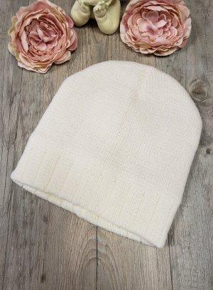 Bonnet ivoire enfant hiver