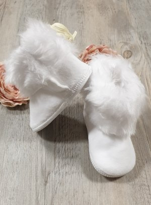 Bottines bébé blanches fille