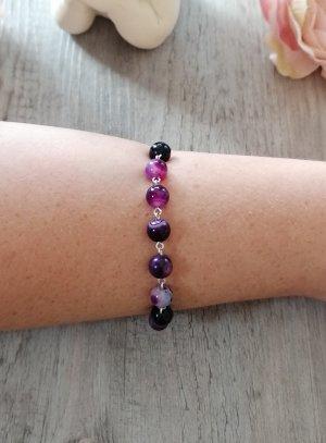 croix et chapelet violet