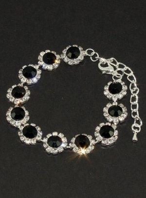 bijoux de soirée noir