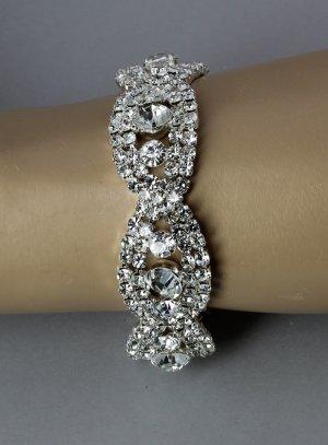 bracelet strass soirée mariage pour femme