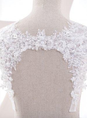 Bretelles pour robe de mariée blanches et raffinées