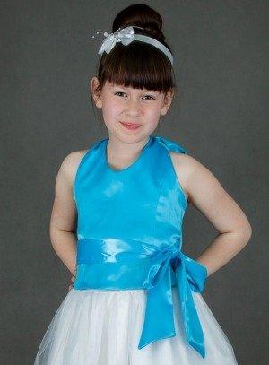 soldes fille bleu turquoise