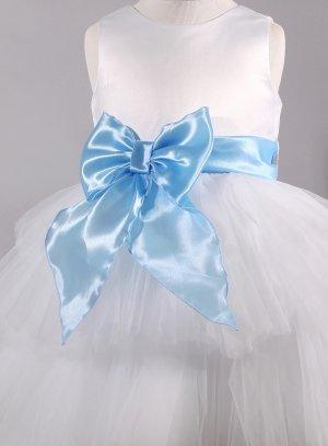 ceinture cortège mariage enfant bleu ciel