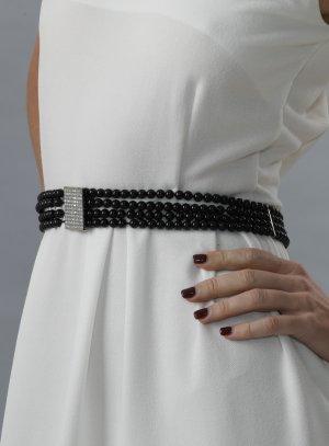 ceintures fantaisies femme noir
