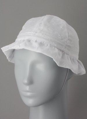 chapeau de cérémonie fille blanc