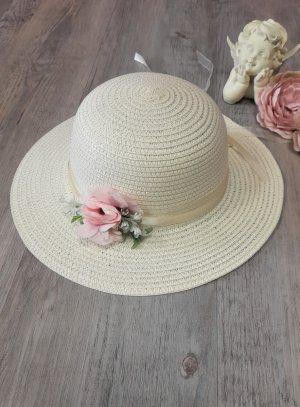 chapeau mariage enfant ivoire champêtre