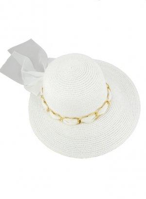 chapeaux de cérémonie femme blanc