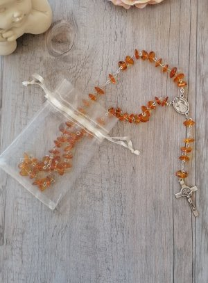 chapelet miséricorde divine ambre