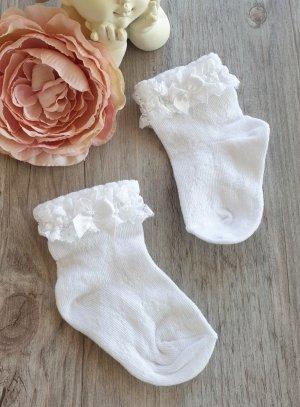 collants chaussettes habillés fille blanc