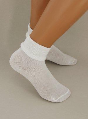 chaussettes garçon blanc