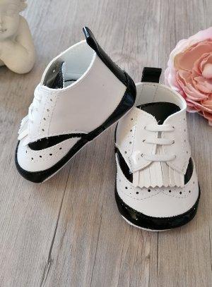 chaussons bébé cérémonie mariage garçon derbus blanche