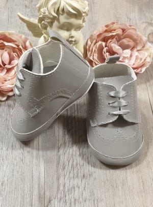 Chaussures cérémonie bébé Jauris vernis grise