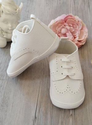 Chaussures cérémonie bébé Jauris mat ivoire écru