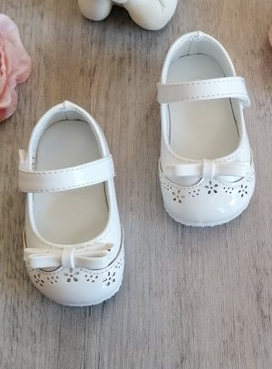 Chaussures baptême bébé fille vernies