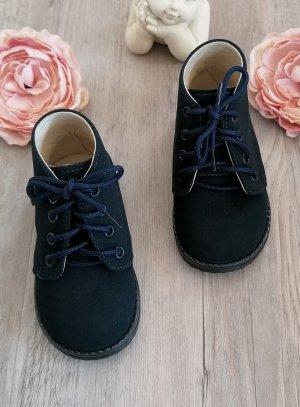 chaussures botillon bleu marine pour bébé et petit garçon