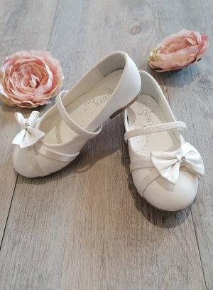 chaussures cérémonie fille blanc