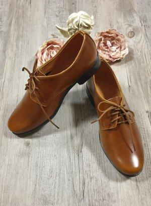 chaussures cérémonie garçon marron