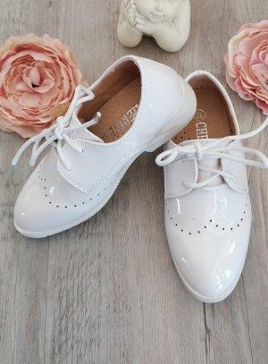 chaussures cérémonie garçon blanche vernie
