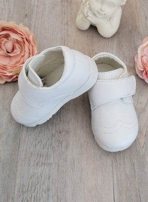 chaussure bapteme bebe garcon blanche