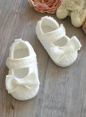 chaussures cérémonie fille ivoire - ecru