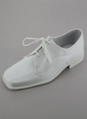 Chaussures cérémonie garçon blanches Kévin