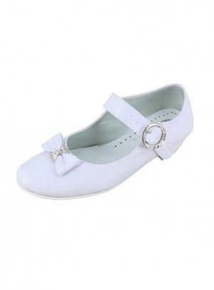 chaussures de cérémonie fille blanc