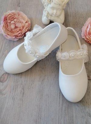 Chaussures de cérémonie fille Lola fleur et perles