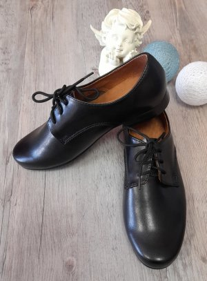 chaussures crémonie garçon mickael noir lacet