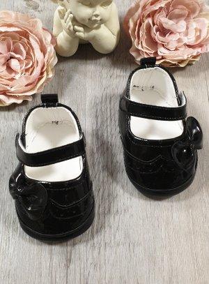 Chaussures cérémonie bébé fille noires
