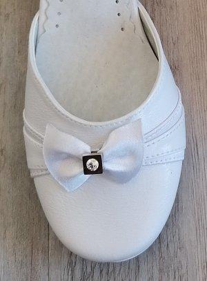 Chaussures de communion fille Candy BLANCHE