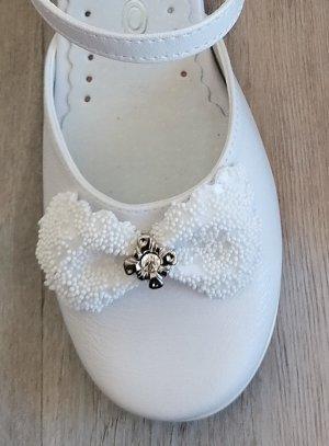 Chaussures de communion fille Eden BLANCHE
