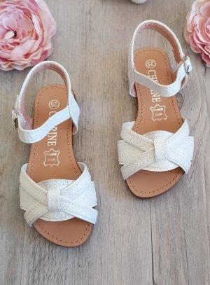 sandale été fille pour cérémonie mariage