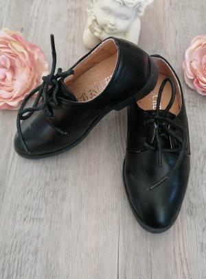 Chaussures mariage garçon enfant noir