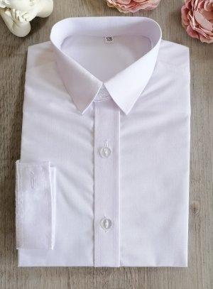 chemise blanche enfant cérémonie mariage communion