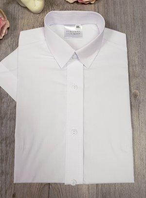 Chemise enfant blanche manches courtes