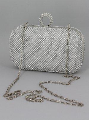 Clutch sac avec bague argent