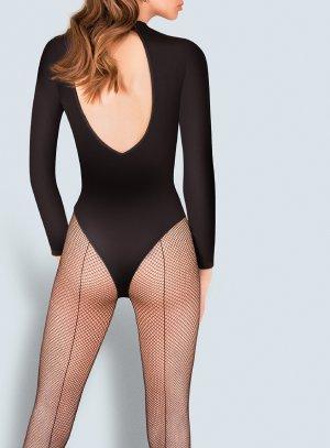 collant résilles couture noir ballerine