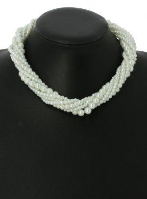 bijoux de soirée blanc