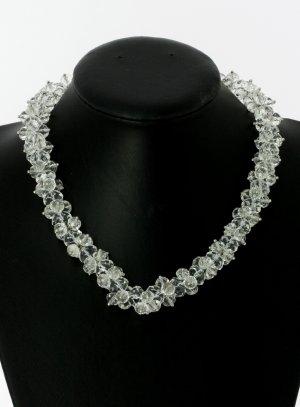 Collier en perle cristal - bijou mariage pas cher
