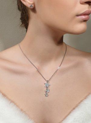 bijoux mariage parrure collier étoile et strass clou