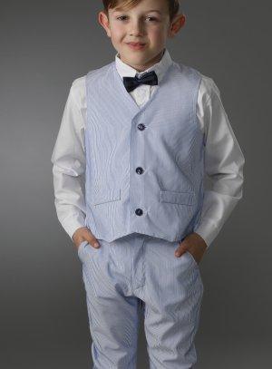 costume enfant 2 - 16 ans bleu