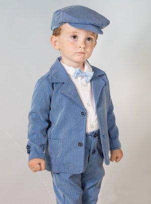 costume bébé garçon bleu mariage cérémonie