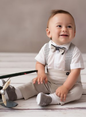 tenue baptême bébé garçon