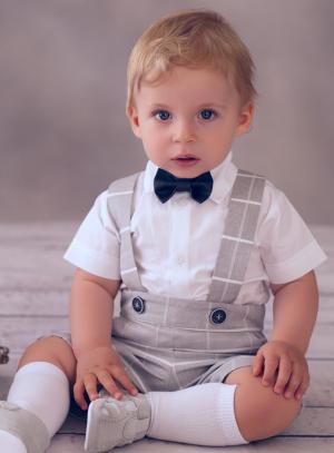 Costume bébé garçon vintage pour mariage ou baptême