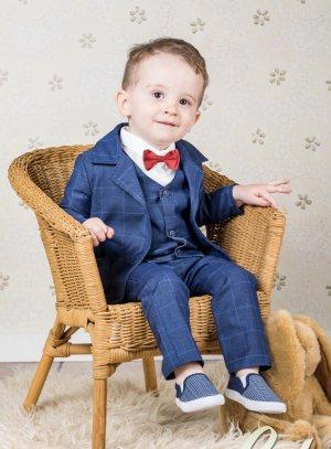costume bébé 0 - 3 ans bleu marine