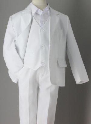 costume garcon blanc mariage cérémonie communion modèle Charles