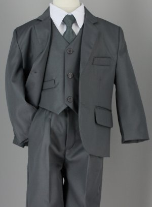 Costume garcon mariage nathan costume complet gris